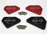 This is a pair of NEW billet brake and clutch reservoir covers for all Ducati 749/999.
