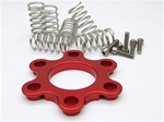 Ducati billet clutch spring retainer spider retainer with stainless springs